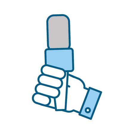 Profesional micrófono transmitir iconos ilustración vectorial diseño gráfico Foto de archivo - 81125529