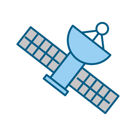 Satellite universe antenna icon vector illustration design graphic Çizim
