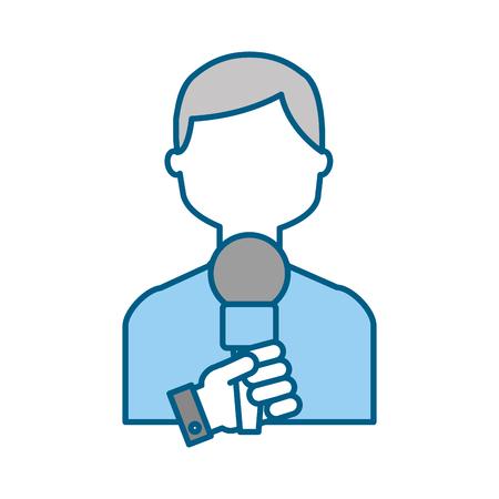 Profesional micrófono transmitir iconos ilustración vectorial diseño gráfico Foto de archivo - 81127941