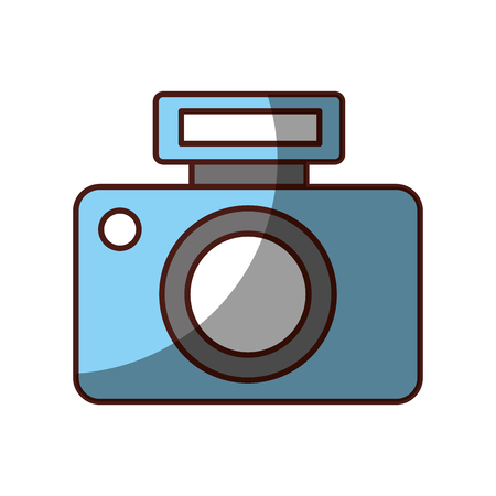 Professional digital camera icon vector illustration design shadow 版權商用圖片 - 81127958