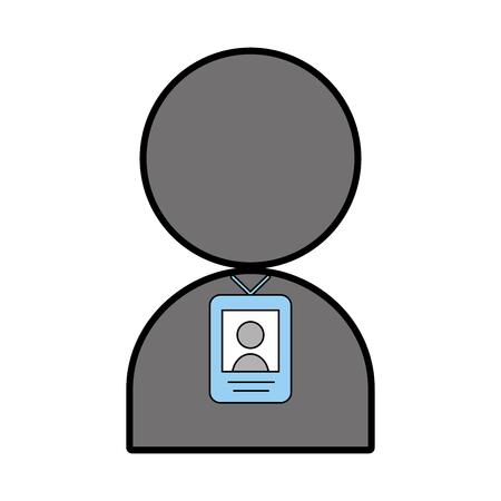 Grafico di progettazione dell'illustrazione di vettore dell'icona del segnale della persona del localizzatore Archivio Fotografico - 81124755