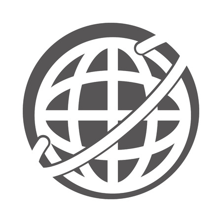 Global internet updating icon vector illustration design graphic