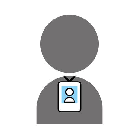 Persona di espulsione segnale icona illustrazione vettoriale illustrazione grafica Archivio Fotografico - 81133771