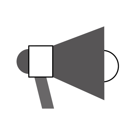 Megaphone talk person icon vector illustration design graphic