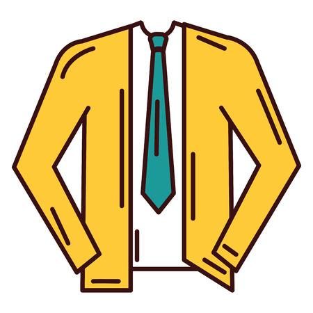 Men stylish outfit model vector illustration design
