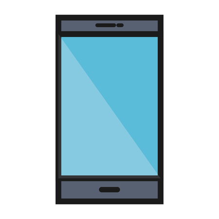 responsive: smartphone device isolated icon vector illustration design