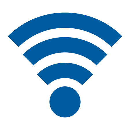 wireless signal: wifi signal isolated icon vector illustration design