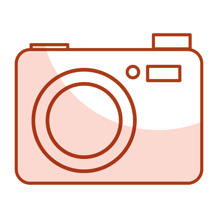 photographing: camera photographic isolated icon vector illustration design