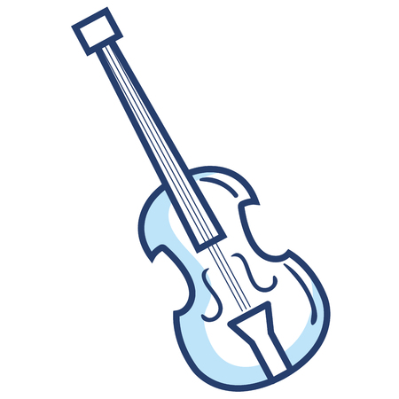 cello musical instrument icon vector illustration design Illustration