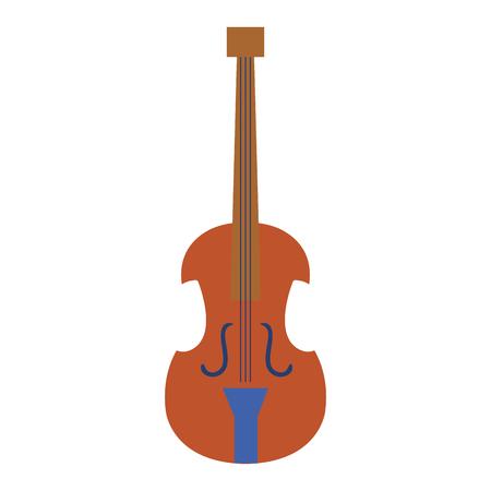 Violoncelle instrument de musique icône illustration vectorielle conception Banque d'images - 81138195