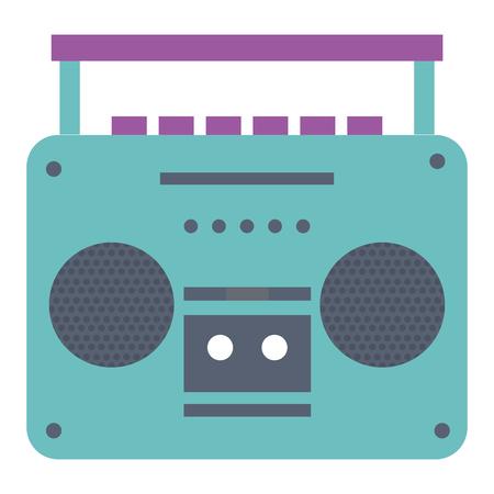 古い音楽プレーヤー アイコン ベクトル イラスト デザイン 写真素材 - 81138194