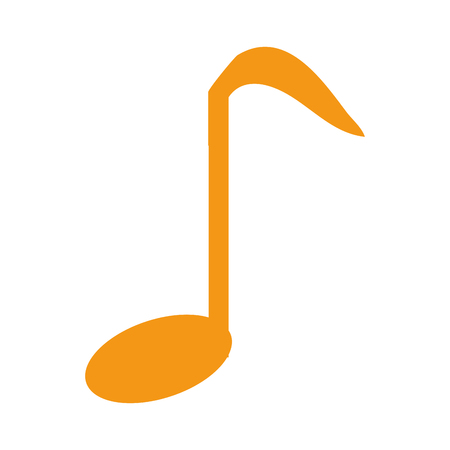 music note isolated icon vector illustration design Stock Photo