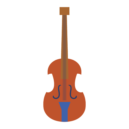 cello musical instrument icon vector illustration design Stock Photo