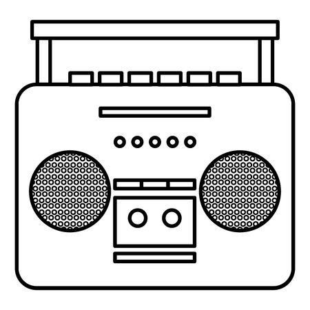 old music player icon vector illustration design Reklamní fotografie - 81138255