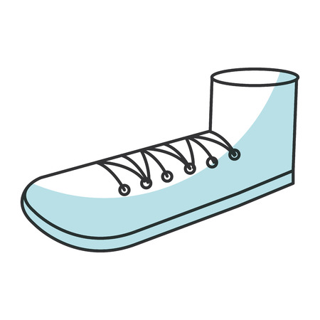 Großvater Schuh isoliert Symbol Vektor-Illustration Design Standard-Bild - 81138331