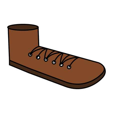 Großvater Schuh isoliert Symbol Vektor-Illustration Design Standard-Bild - 81138114