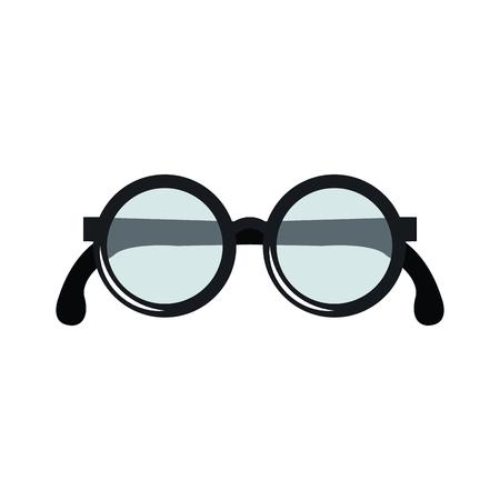 Abuelos ojos gafas icono ilustración vectorial diseño Foto de archivo - 81139363