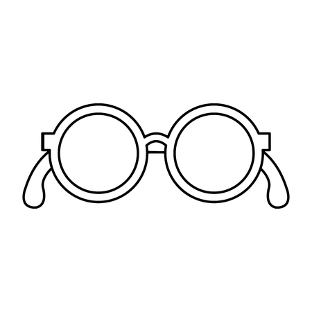 grandparents eye glasses icon vector illustration design Çizim
