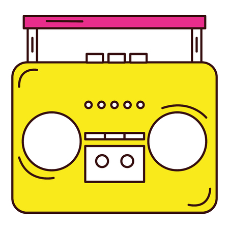 old music player icon vector illustration design Reklamní fotografie - 81142076