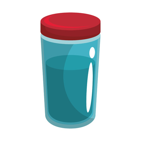 food bottle icon over white background colorful design vector illustration