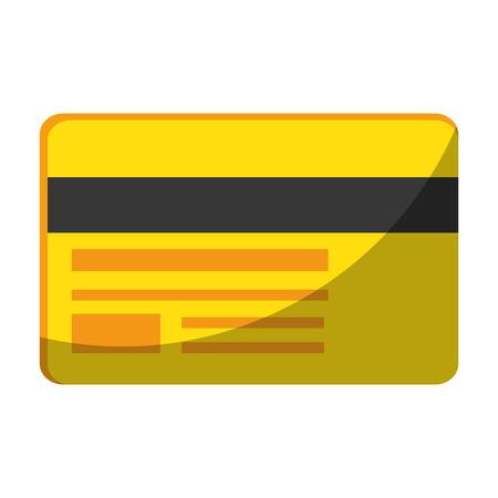 白地カラフルなデザインのベクトル図にクレジット カードのアイコン  イラスト・ベクター素材