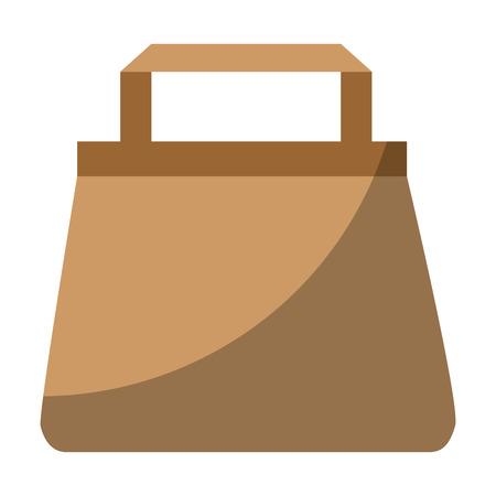 shopping bag icon over white background vector illustration Stock Vector - 81140390