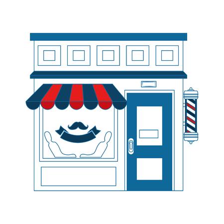 store icon over white background colorful design vector illustration