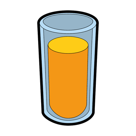 orange juice icon over white background vector illustration Stok Fotoğraf - 81166767