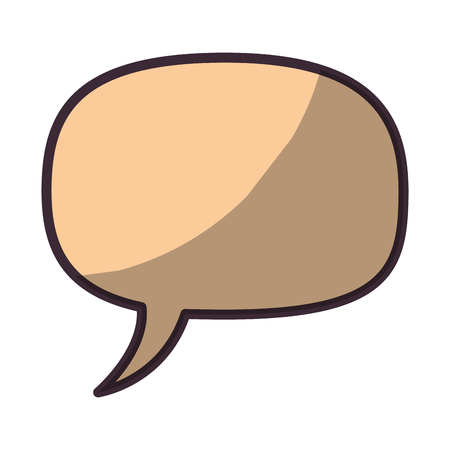 Bubble chat isolated icon vector illustration graphic design