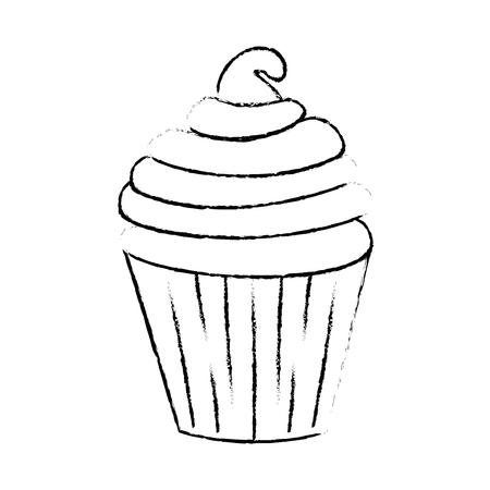 맛있는 먹고 만화 아이콘 벡터 일러스트 그래픽 디자인