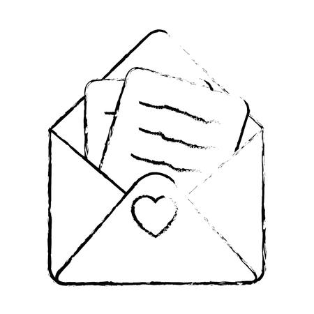 Cute letter cartoon icon vector illustration graphic design Stock Vector - 81165890