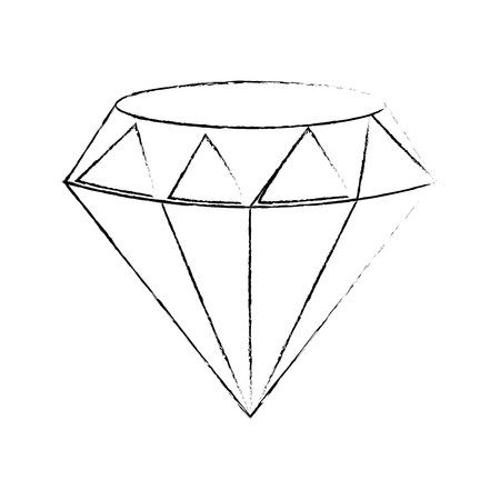 Beautiful diamond isolated icon vector illustration graphic design 版權商用圖片 - 81165903