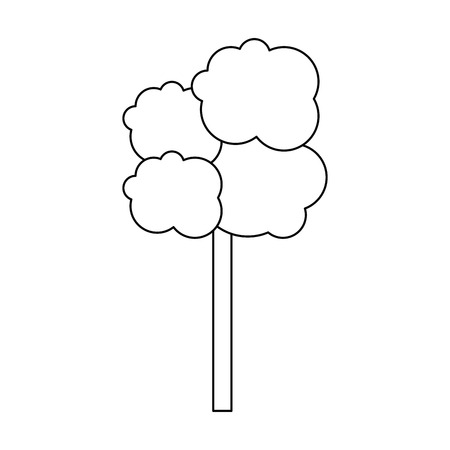 Tree nature isolated icon vector illustration graphic design
