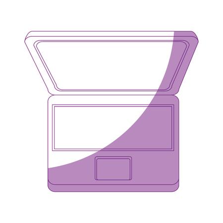 Laptop pc computer icon vector illustration graphic design Stock Vector - 81167423