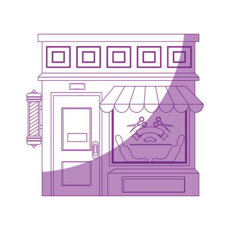 Shop store cartoon icon vector illustration graphic design