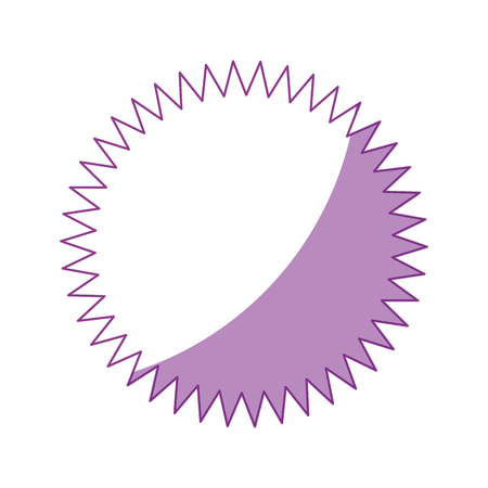 Carimbo redondo rótulo ícone vector ilustração design gráfico Foto de archivo - 81167461