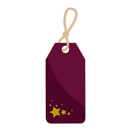 Shopping label tag icon vector illustration graphic design Illustration