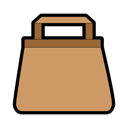 Shopping bag isolated icon vector illustration graphic design Stock Vector - 81188502