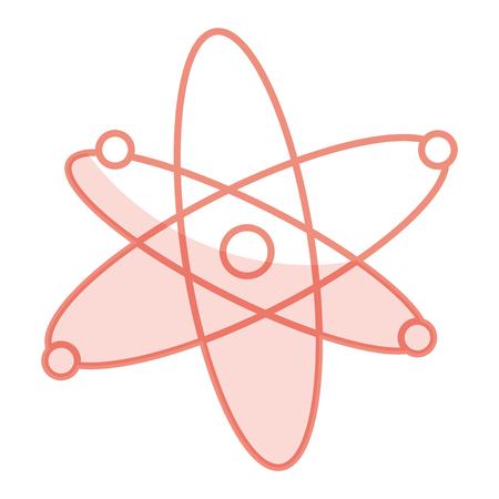 Atom molecule isolated icon vector illustration design. Reklamní fotografie - 81185782