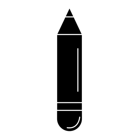 A pencil school isolated icon vector illustration design.