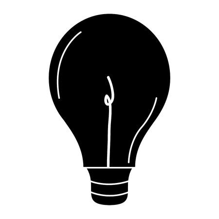 A bulb light isolated icon vector illustration design.