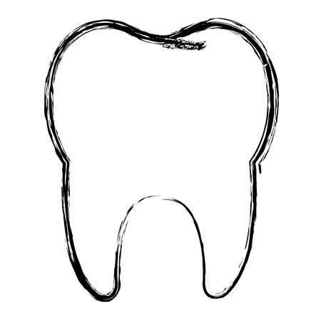 clean tooth isolated icon vector illustration design Stock fotó - 81273081