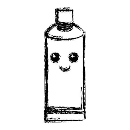 toothpaste dental character vector illustration design Illustration