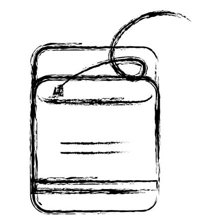 Dental Floss isolated icon vector illustration design