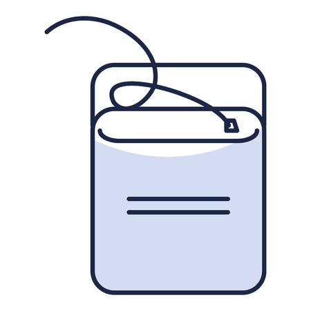 Dental Floss isolated icon vector illustration design Reklamní fotografie - 81272695