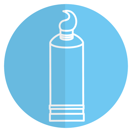 toothpaste dental product icon vector illustration design