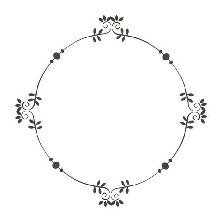 エレガントなビクトリア朝様式フレーム ベクトル イラスト デザイン