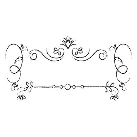 Elegantes viktorianisches Designvektor-Illustrationsdesign Standard-Bild - 81295005