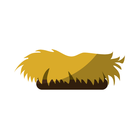 nest icon over white background vector illustration