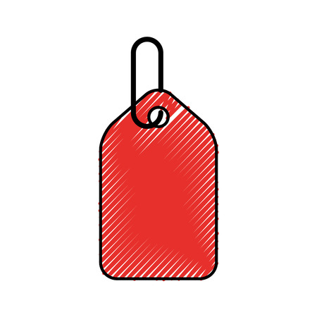 tag commercial isolated icon vector illustration design